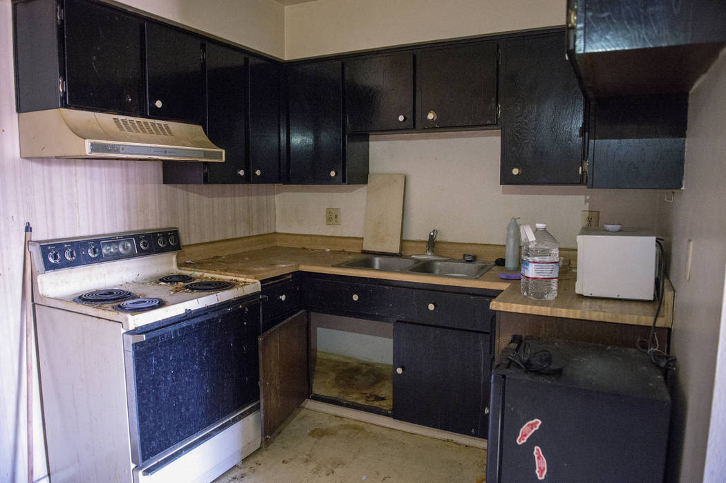 Interior shot of one of the cheapest homes currently listed for sale in Las Vegas, Tuesday, Nov. 27, 2018. Caroline Brehman/Las Vegas Review-Journal