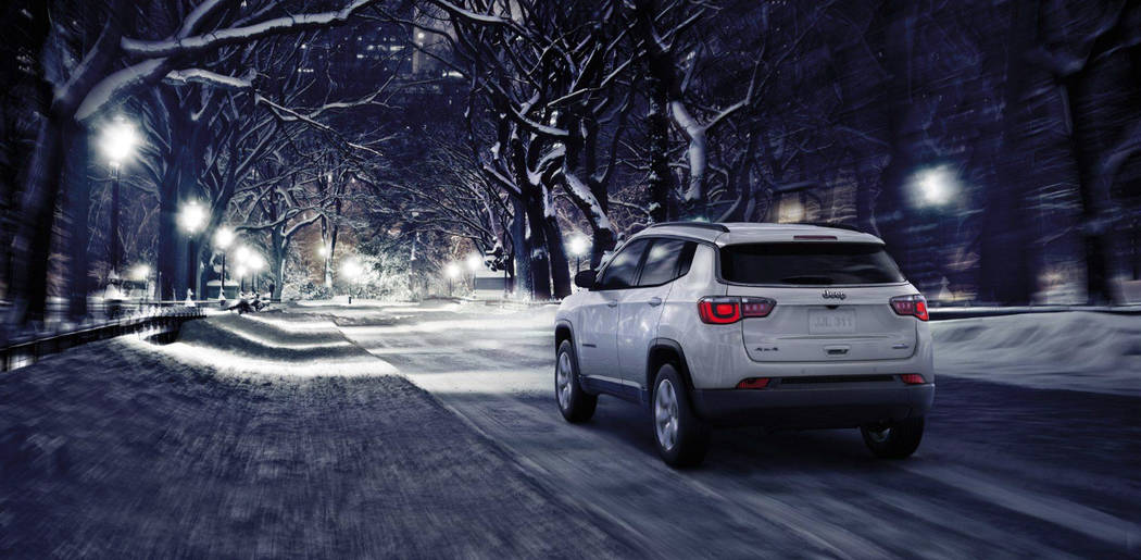 The 2018 Jeep Compass is perfect for your holiday adventures. (Jeep)