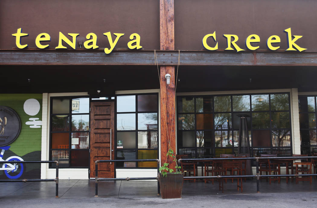 Tenaya Creek Brewery in Las Vegas on Tuesday, Nov. 27, 2018. Sierra Nevada has asked breweries to join in making Resilience IPA, and all proceeds will be donated to Camp Fire victims. Rachel Aston ...