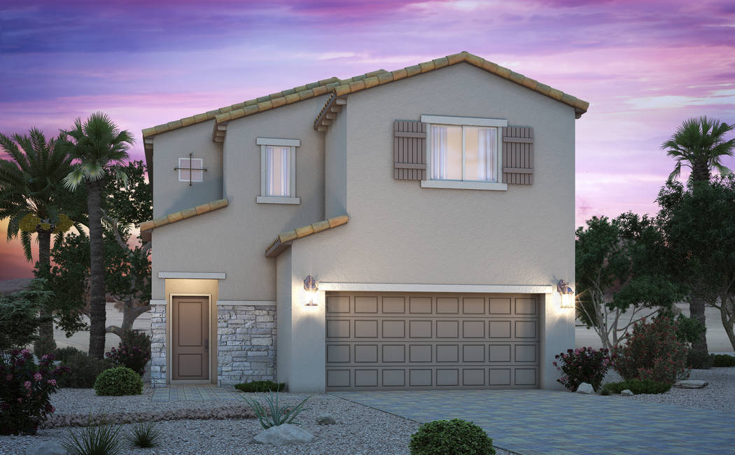 Versilia at Southern Highlands by Century Communities features two stories with three bedrooms, plus loft and den. (Century Communities)