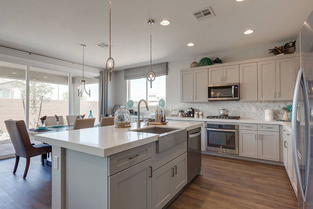 Versilia at Southern Highlands by Century Communities opens Dec. 1, featuring four new home designs with pricing starting in the low $300,000s. (Century Communities)