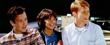 """Richard Dreyfuss, left, Cindy Williams and Ron Howard star in George Lucas' coming-of-age comedy """"American Graffiti"""" (1973). Columnist Jared Whitley included the movie on his list of favorite back ..."""
