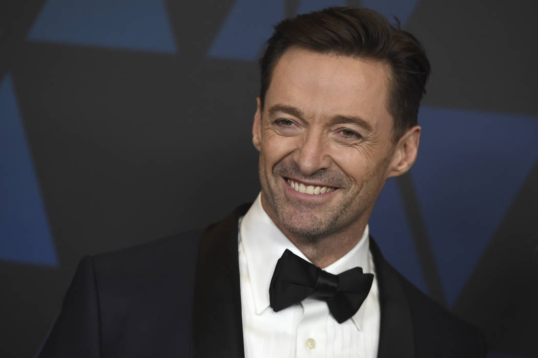 Hugh Jackman arrives at the Governors Awards at the Dolby Theatre in Los Angeles. (Photo by Jordan Strauss/Invision/AP, File)