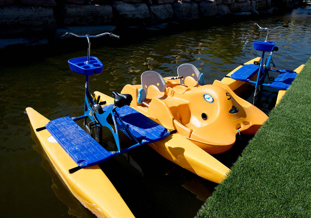 Paddle boats are available for rent. (Tonya Harvey Real Estate Millions)