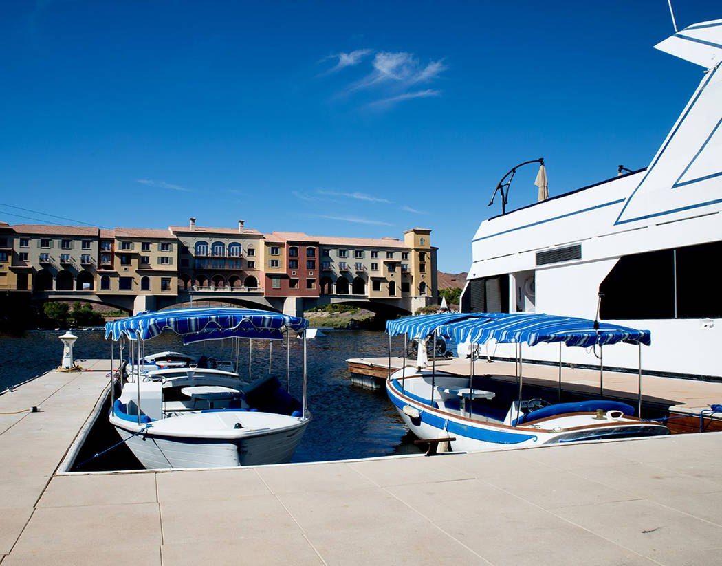 The community's hub is the Village where residents and visitors can rent boats and participate in other watersports.( Tonya Harvey Real Estate Millions)