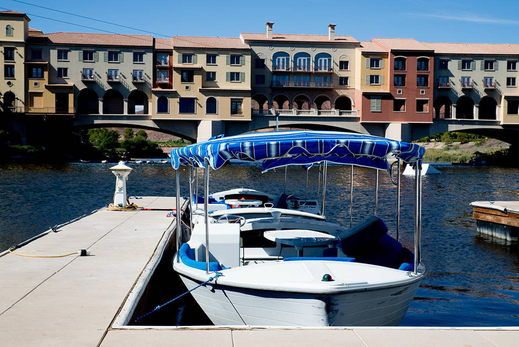 The Village at Lake Las Vegas has recovered since the Great Recession with shops, restaurants and boat rentals. (Tonya Harvey Real Estate Millions)