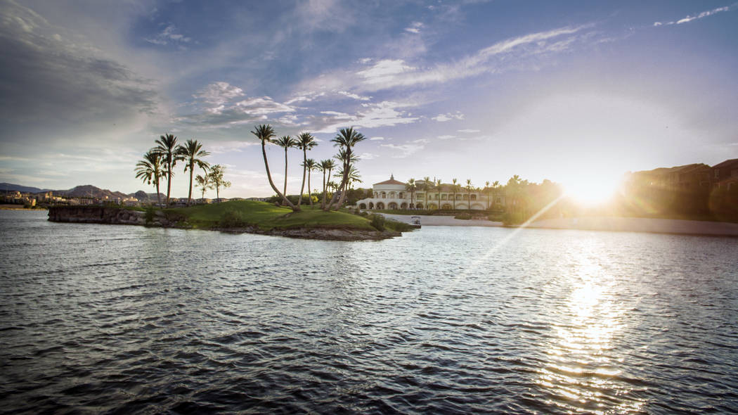 Lake Las Vegas has been known as a resort community but as more new home developments are being created, more residents are calling it home. (Lake Las Vegas)