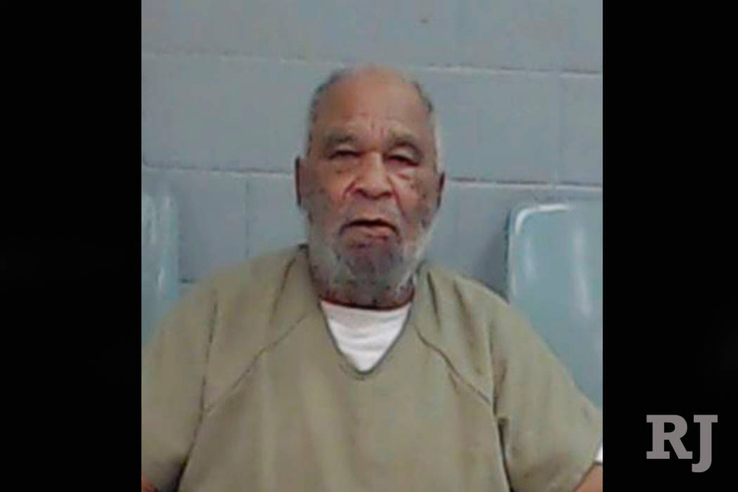 This undated photo provided by the Ector County Texas Sheriff's Office shows Samuel Little. (Ector County Texas Sheriff's Office via AP)