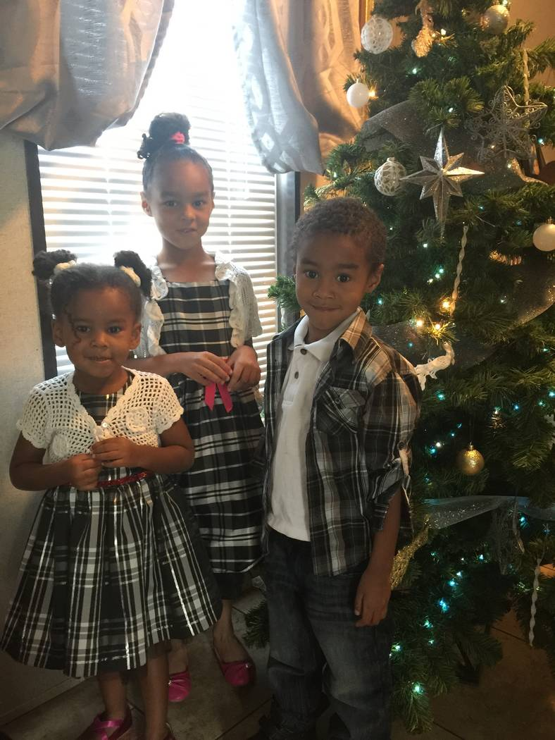 Emily Allen's children, Andrea Harris, 3, Adesina Neal, 6 and William Neal, 5. While the Neal children have been on Medicaid since birth, her youngest, Harris, is uninsured.