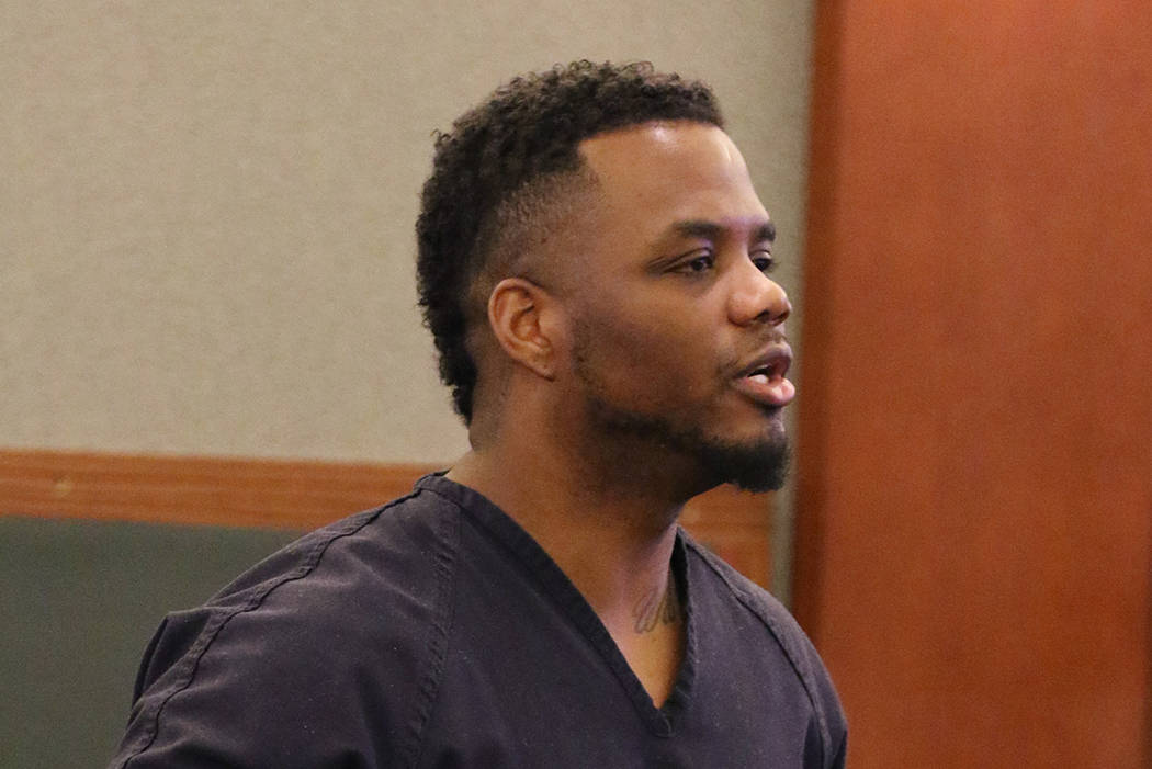 Willie Floyd Worthams, who pleaded guilty to drunk driving in a crash that killed Robert Roberts, 23, and Jermaine Lovell Asher, 22, addresses the court during his sentencing at the Regional Justi ...