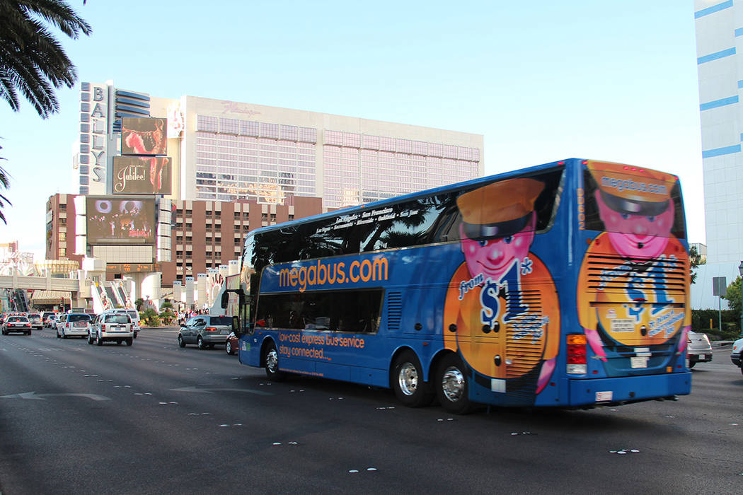 MegaBus will end its service between Las Vegas and Arizona effective Friday, Nov. 30, 2018. (Courtesy: MegaBus.com)