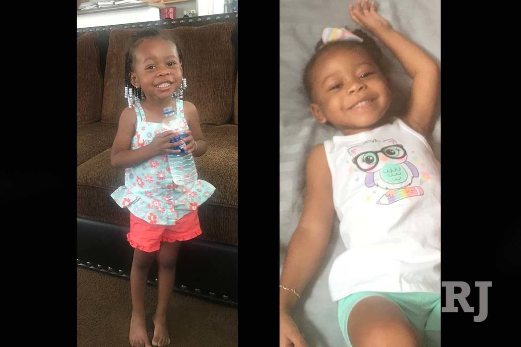 North Las Vegas police are asking for the public's help in in locating 2-year-old Zalea Walker, who was reported missing in August. (North Las Vegas Police Department)
