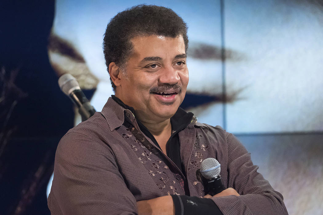 "In this Wednesday, Nov. 1, 2017 file photo, Neil deGrasse Tyson attends a fan event celebrating the release Kelly Clarkson's album ""Meaning of Life"" at YouTube Space New York in New York. Fox and ..."