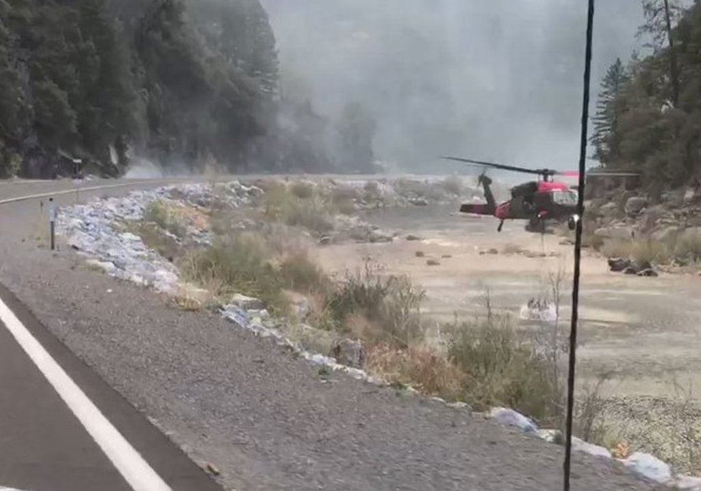 Cool weather helps firefighters battle Northern California ...