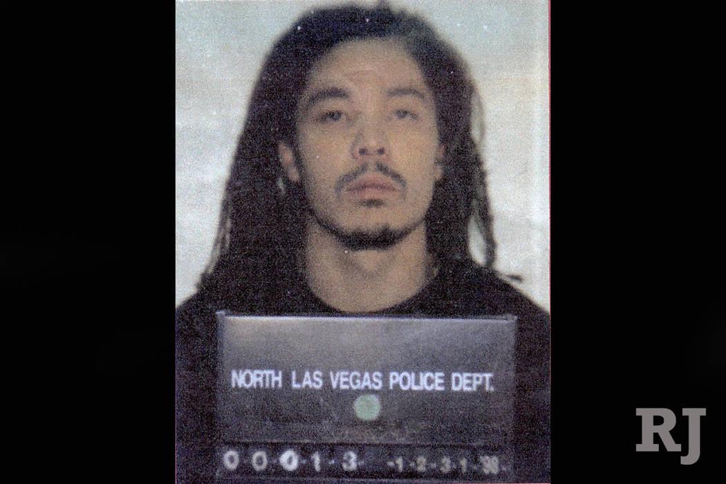 Timothy Blackburn mug shot. (North Las Vegas Police Department)
