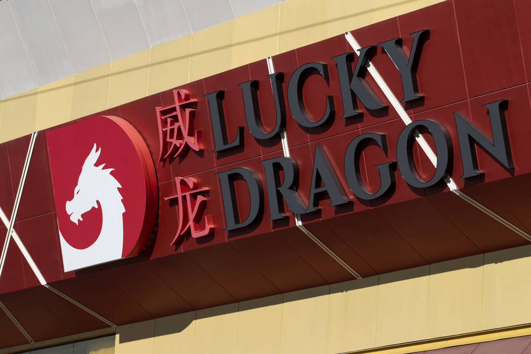 The Lucky Dragon in Las Vegas is closing its casino and restaurants until further notice, Thursday, Jan. 4, 2018. (Erik Verduzco/Las Vegas Review-Journal)