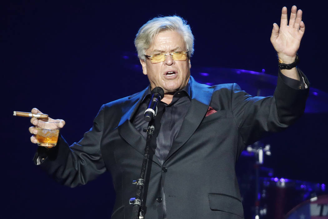 Ron White performs Oct. 19, 2017, in Las Vegas. (AP Photo/John Locher)