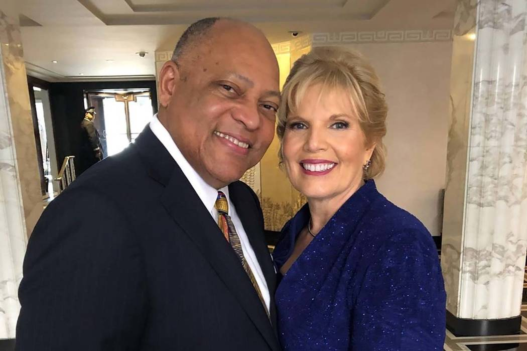 U.S. Bankruptcy Judge Laurel Elizabeth Babero and her husband, Andras. (Facebook)
