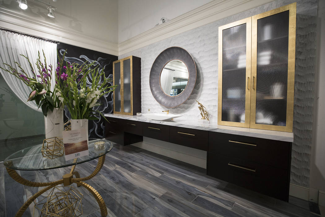 Las Vegas Design Center's new 6,000-square-foot Kitchen and Bath Resource Center features four inspirational displays showcasing top brands in flooring, stone, tile, countertops, fixtures, plumbin ...