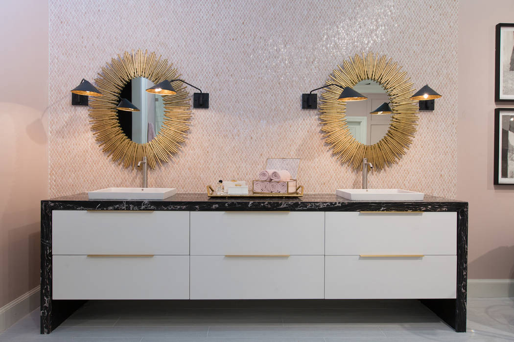 The four lifestyle vignettes in the Las Vegas Design Center's Kitchen and Bath Resource Center were created by leading Las Vegas-based interior designers. Peggy Scinta, owner of P. Scinta Designs, ...