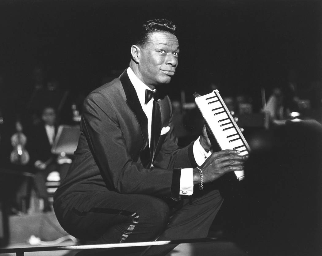"""""""Nat 'King' Cole — At The Sands"""" was the only official live recording this great crooner made in his 47 years. He still looked young and confident when photographed at that hotel in 1962, thre ..."""