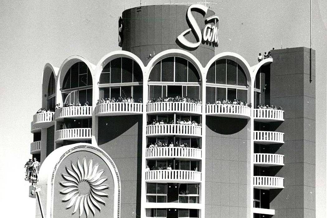The Sands Hotel and Casino, 1981. (File Photo/Las Vegas Review-Journal)