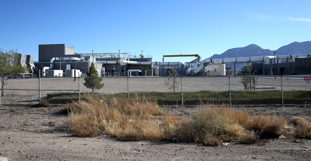 The City of North Las Vegas Water Reclamation Facility Friday, Nov. 30, 2018. K.M. Cannon Las Vegas Review-Journal @KMCannonPhoto