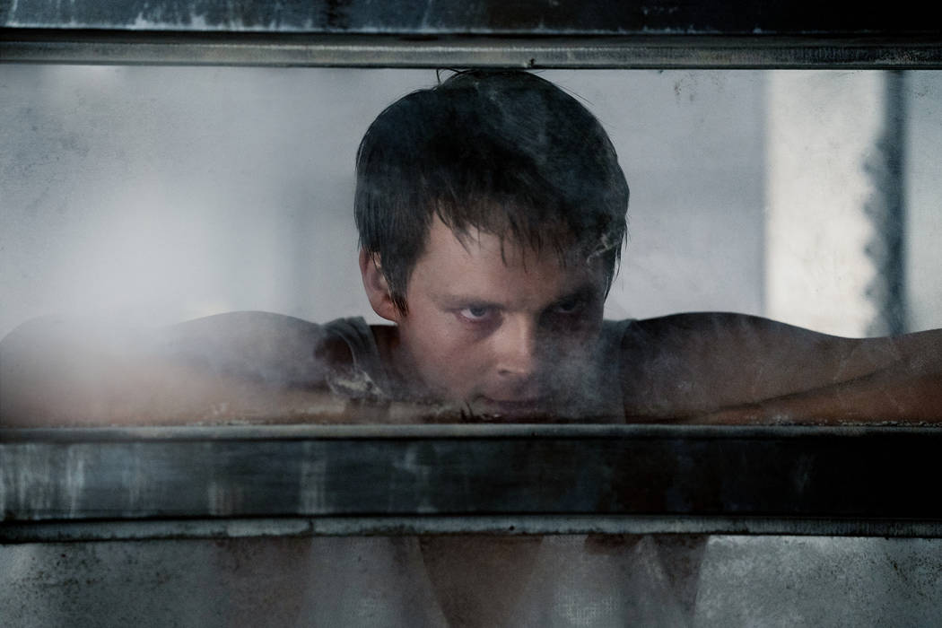 """NIGHTFLYERS -- """"All That We Left Behind"""" Episode 101-- Pictured: Sam Strike as Thale -- (Photo by: Jonathan Hession/Syfy)"""