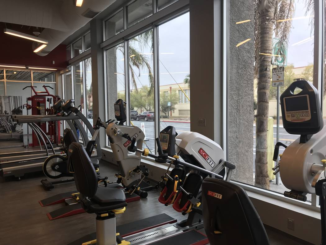 DRIVEN NeuroRecovery Center in Las Vegas on Thursday, Nov. 29, 2018. (Jessie Bekker/ Las Vegas Review-Journal)
