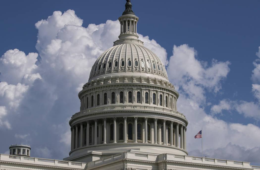 The U.S. Capitol in Washington. (J. Scott Applewhite/AP)