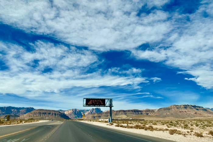 Alternative routes from Las Vegas to LA to avoid backups on I-15