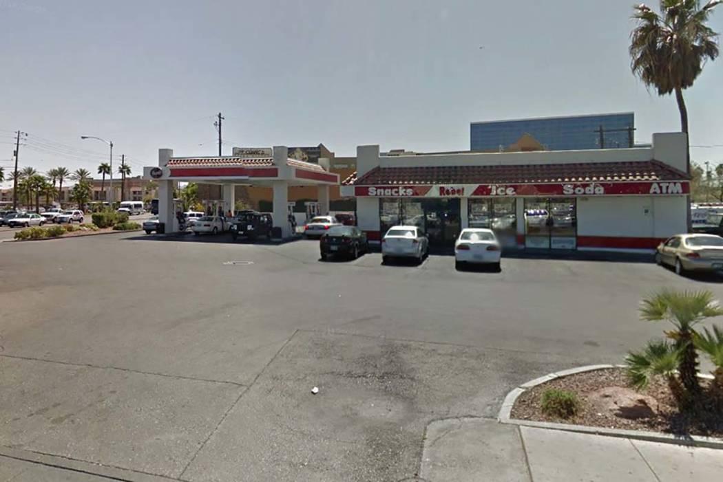 Rebel gas station, 4111 Paradise Road (Google)