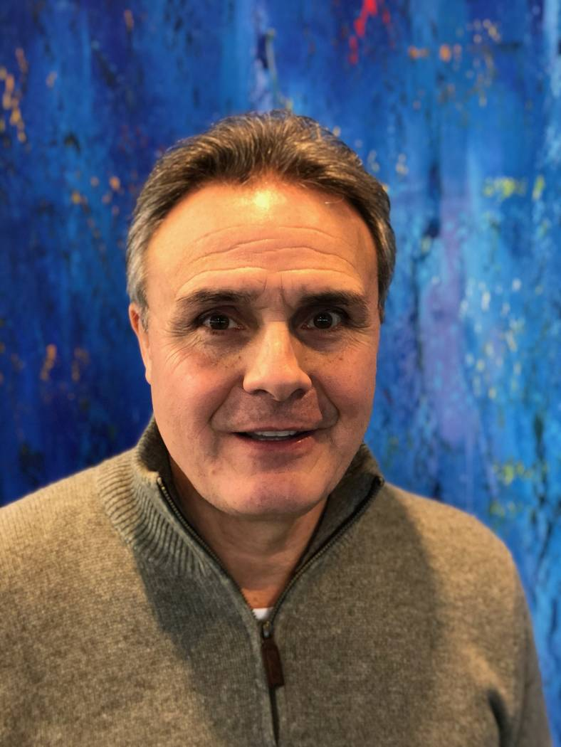 Mark Churella, a former three-time NCAA wrestling champion at Michigan and UNLV head wrestling coach, has been director of the Cliff Keen Invitational in Las Vegas for 37 years. (Courtesy: Mark C ...
