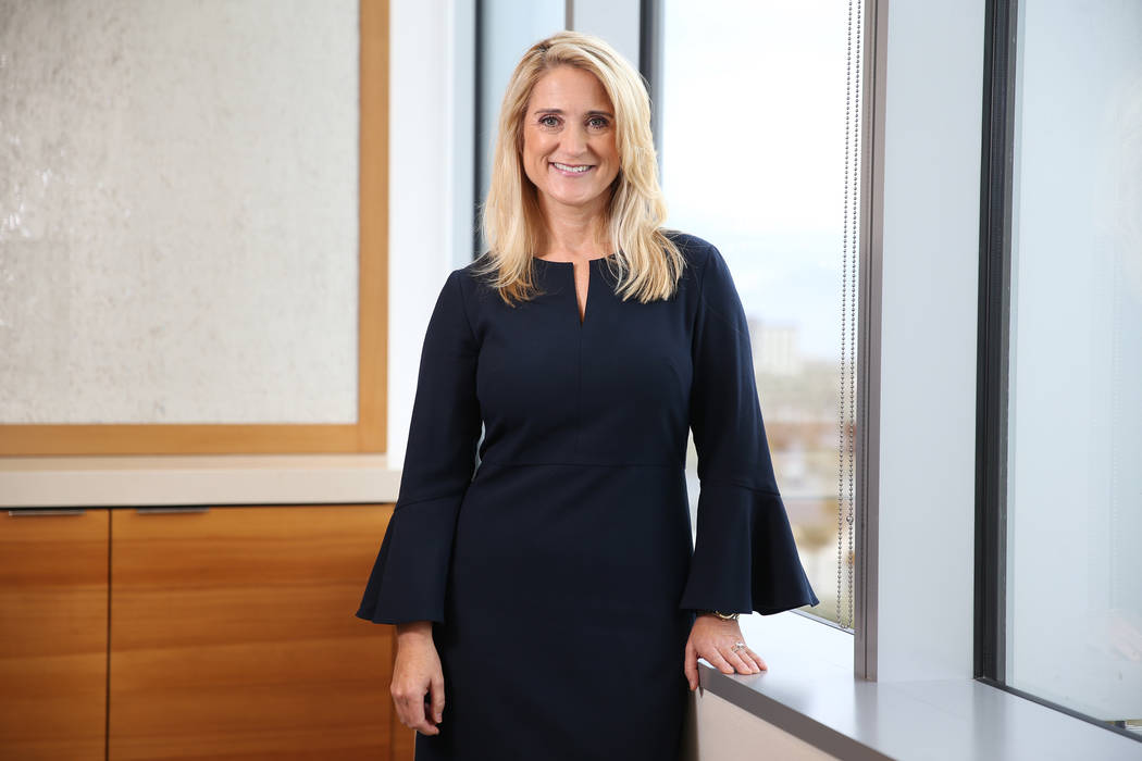 Attorney Jennifer Lazovich at the Kaempfer Crowell law office in Las Vegas, Thursday, Dec. 6, 2018. Erik Verduzco Las Vegas Review-Journal @Erik_Verduzco