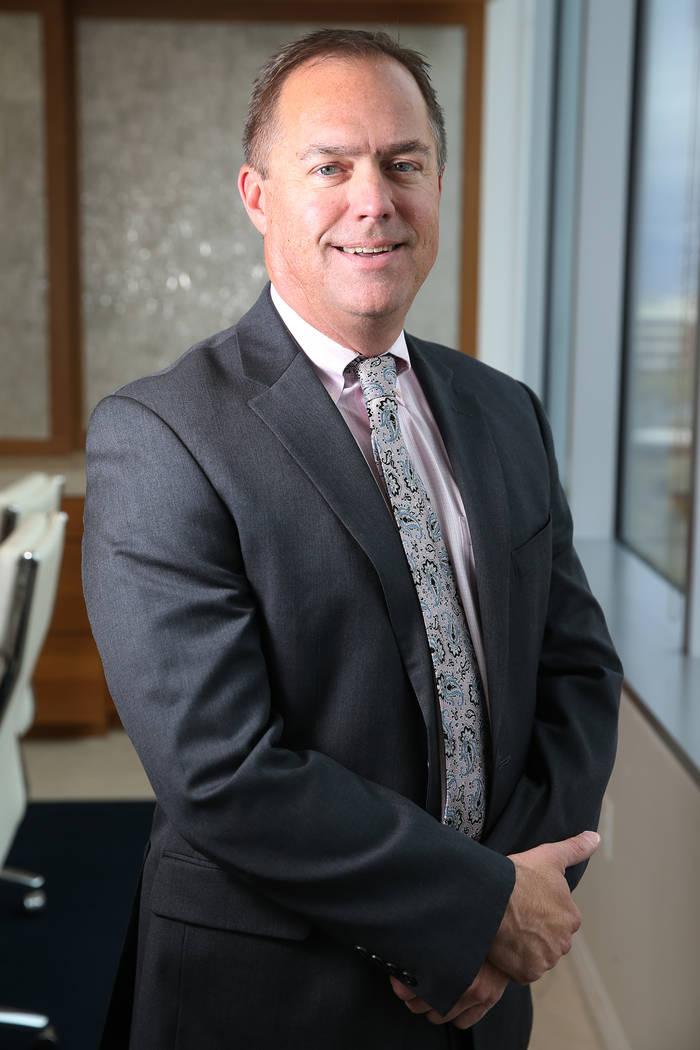 Attorney Bob Gronauer at the Kaempfer Crowell law office in Las Vegas, Thursday, Dec. 6, 2018. Erik Verduzco Las Vegas Review-Journal @Erik_Verduzco