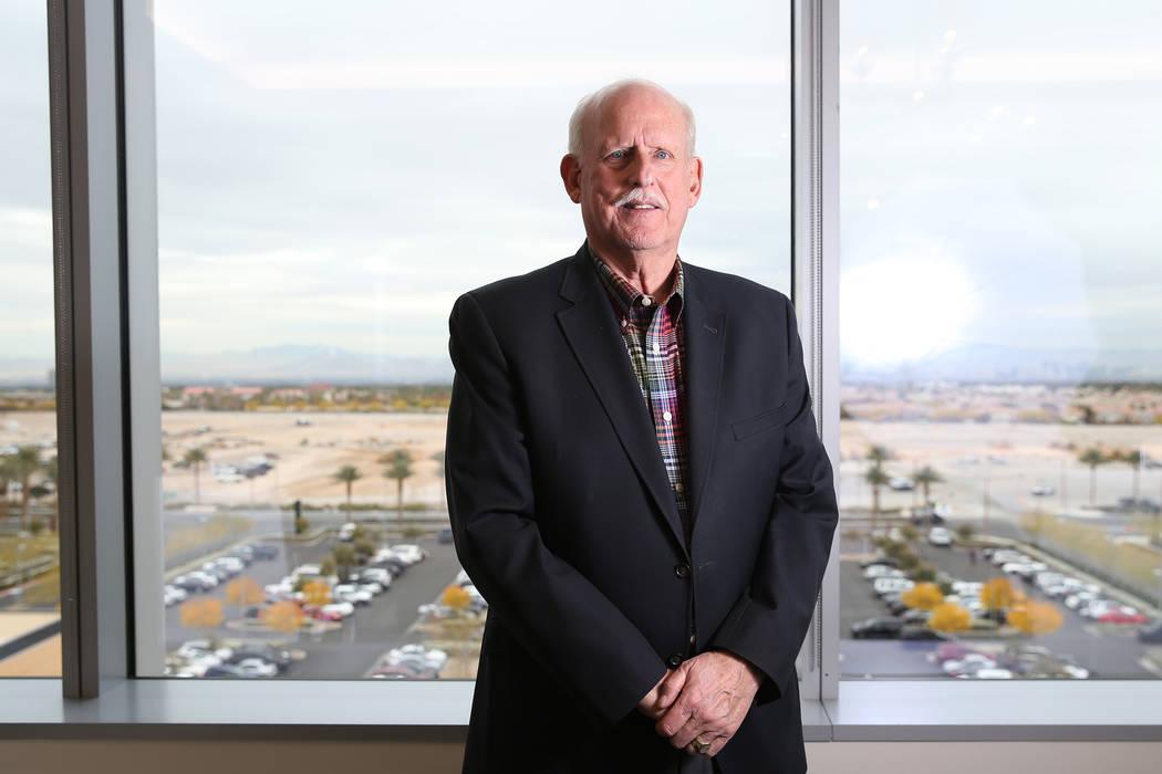 Attorney Chris Kaempfer at the Kaempfer Crowell law office in Las Vegas, Thursday, Dec. 6, 2018. Erik Verduzco Las Vegas Review-Journal @Erik_Verduzco