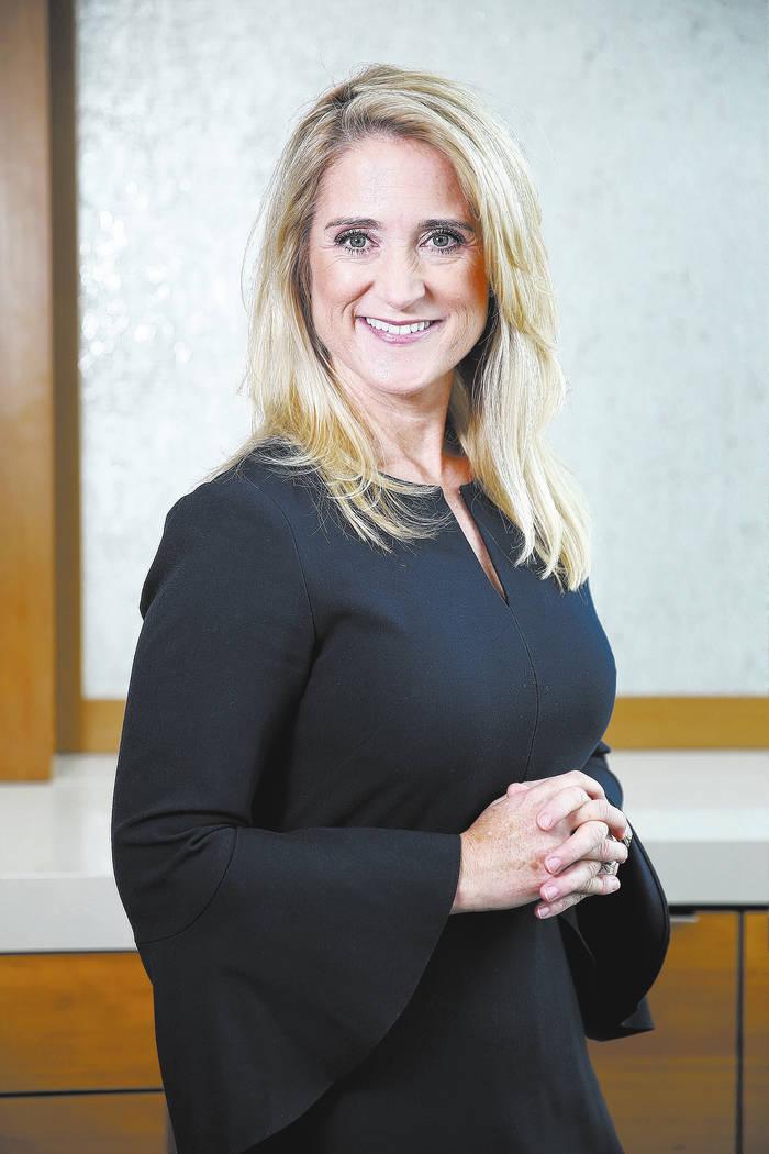 Attorney Jennifer Lazovich at the Kaempfer Crowell law office in Las Vegas, Thursday, Dec. 6, 2018. Erik Verduzco Las Vegas Review-Journal @Erik_Verduzco