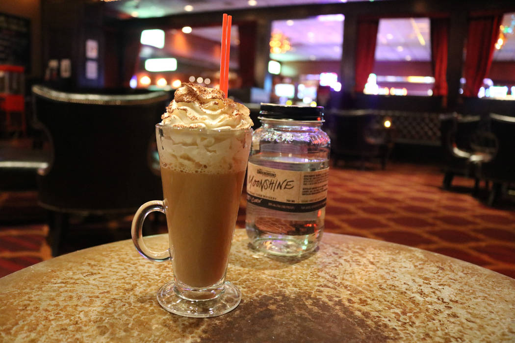 Holiday Hooch at Parlour Bar at El Cortez. Janna Karel Las Vegas Review-Journal