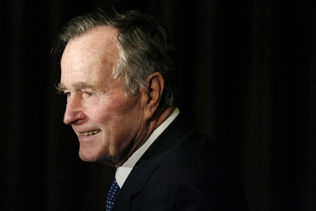 Former President George H.W. Bush (Matt Sayles/AP, File)