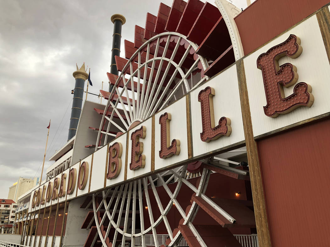 The Colorado Belle in Laughlin on March 17, 2018. (Todd Prince/Las Vegas Review-Journal)