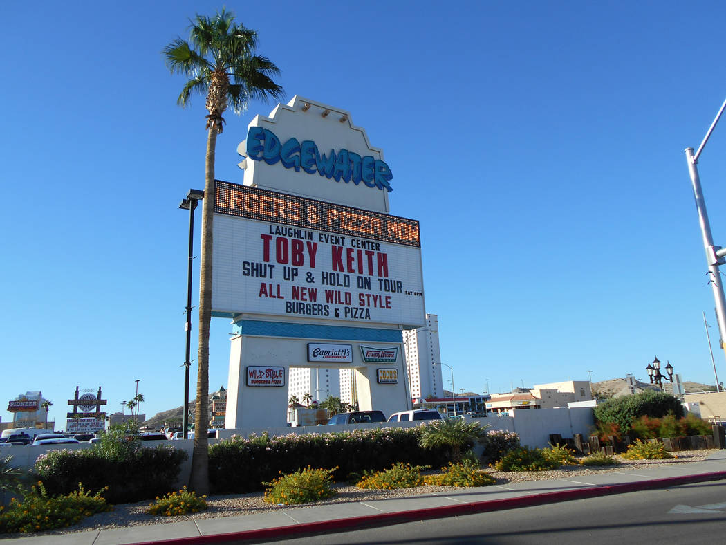 Edgewater in Laughlin (Alan Snel/Las Vegas Review-Journal)