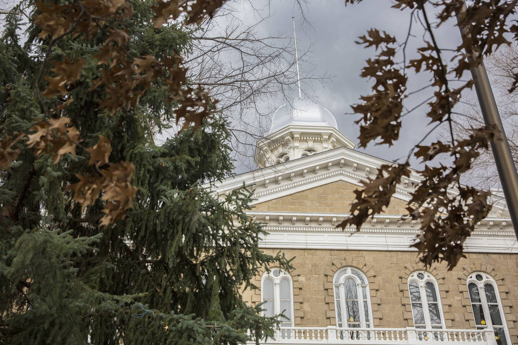 fdb5d6adfaa The Nevada State Capitol in Carson City. (Benjamin Hager Las Vegas Review-