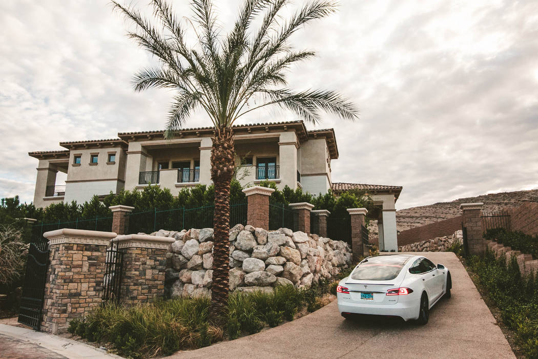 The first luxury estate at 27 Shadow Canyon Court in Southern Highlands is a Mediterranean design, built on a lot size of 0.74 acres. (Growth Luxury Homes)