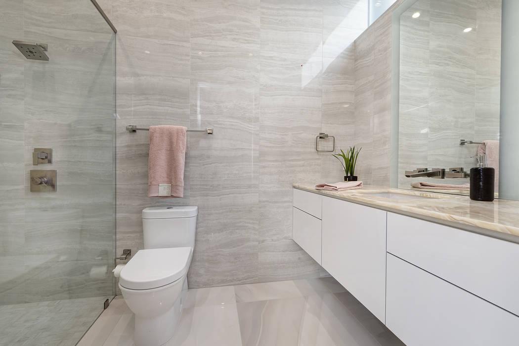 The home has four baths. (Richard Luke Architects)
