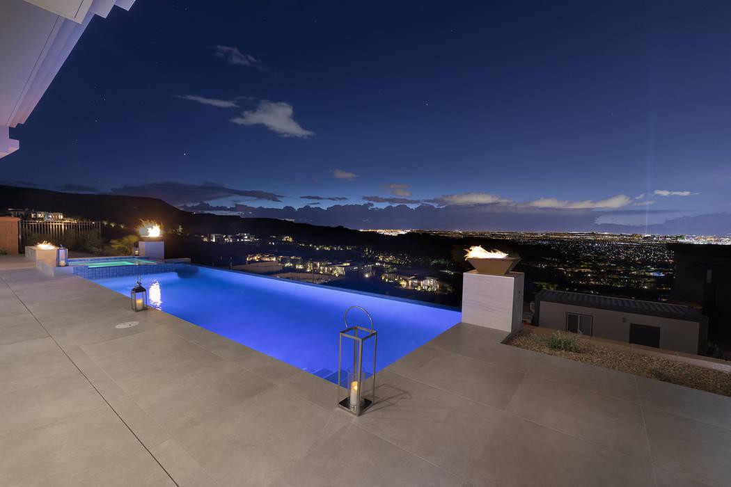 The pool. (Richard Luke Architects)