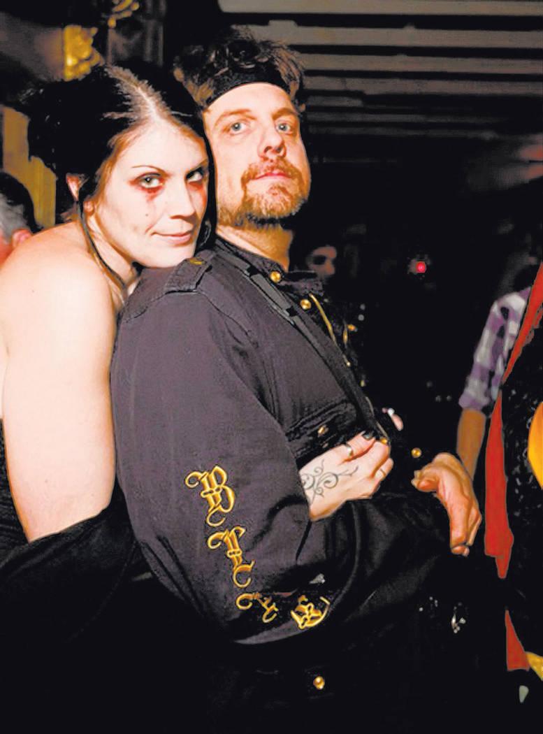 Anastasia Synn and Johnathan Szeles (aka The Amazing Johnathan) are preparing for their outrageous wedding. (Courtesy/Bryan Adams)
