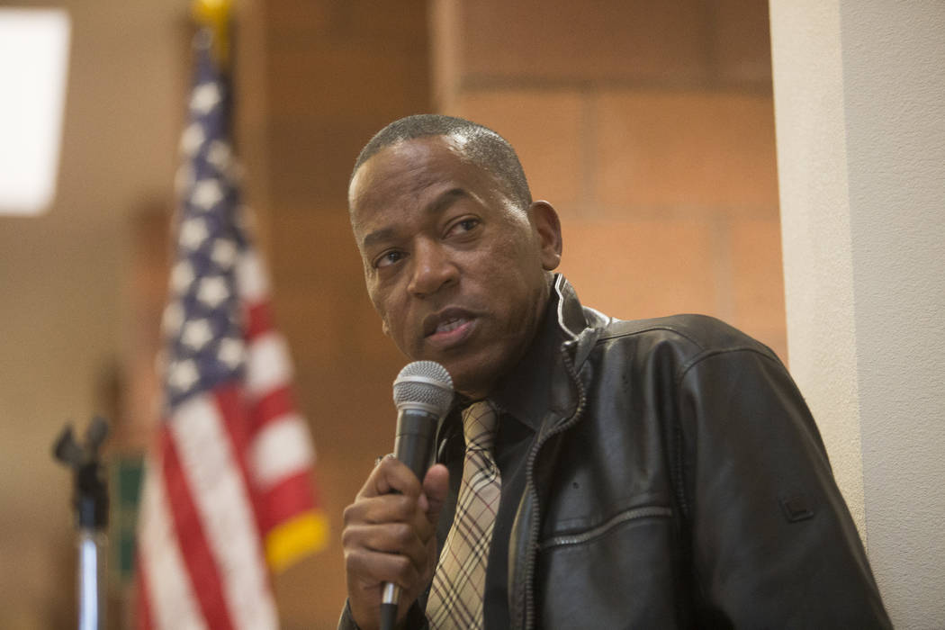 Clark County Commissioner Lawrence Weekly. (Rachel Aston Las Vegas Review-Journal)
