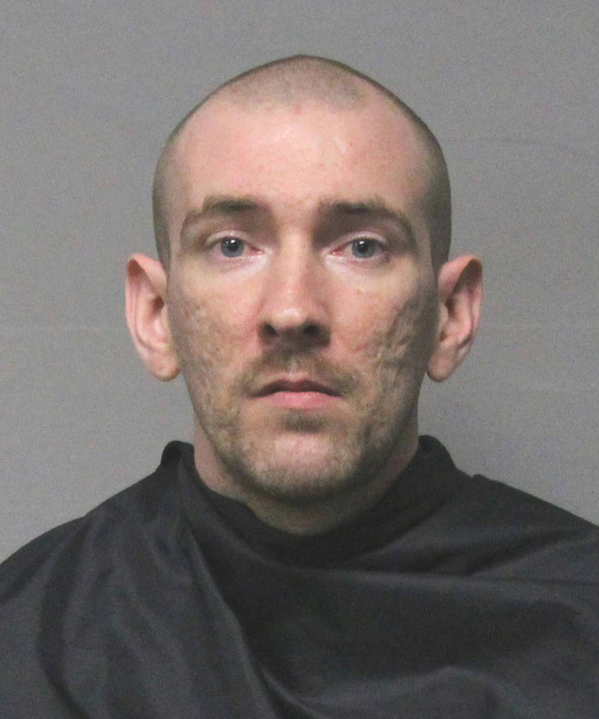 Timothy Dill is shown in an undated photo provided by the Pickens County, S.C., Sheriff's Office. Pickens County Sheriff Rick Clark says Dill was one of two prisoners who beat up two guards ...