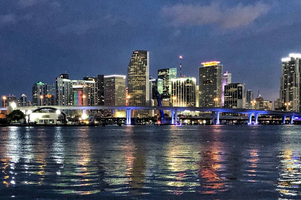 The Miami Skyline. June 12, 2018. Todd Prince/Las Vegas Review-Journal