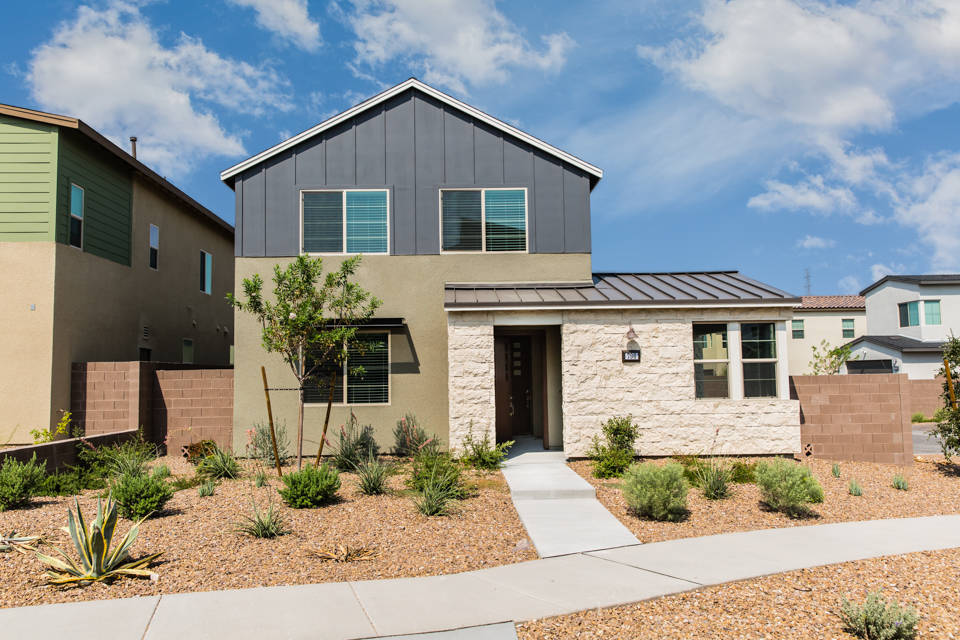 Pardee Homes' Hurry Home sales event includes select plans at Pivot and Strada at Pivot in the Green Valley area, including Plan One at homesite No. 31 at Strada at Pivot, shown here. (Pardee Homes)